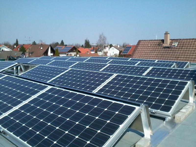 7 kWp, Einfamilienhaus, München