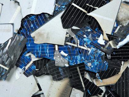 Recycling von Photovoltaikanlagen
