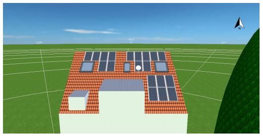 Konzepterstellung Photovoltaikanlage Mehrfamilienhaus am Milbertshofenerstr. 37, München